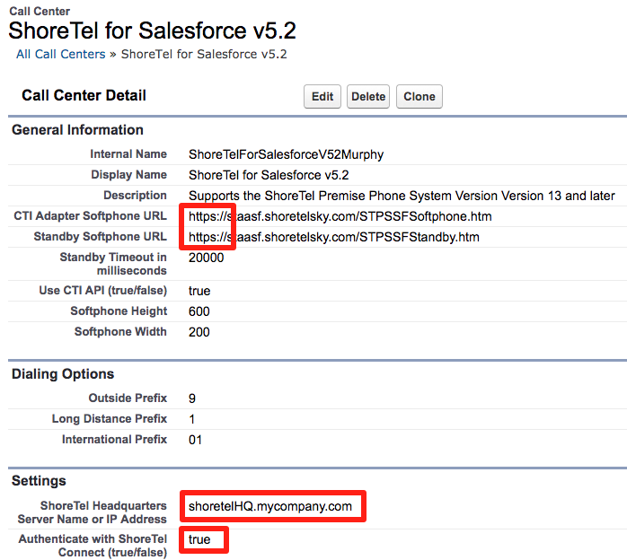 Mitel for Salesforce - Migrating from ST14 to Connect
