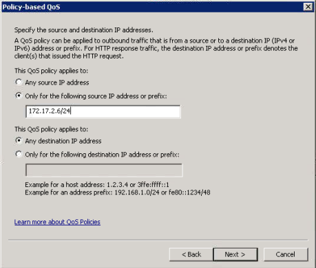 Configuring QoS - DSCP for RTP And Signaling Traffic On Windows
