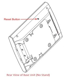 Multi Cell DECT Factory Reset Button