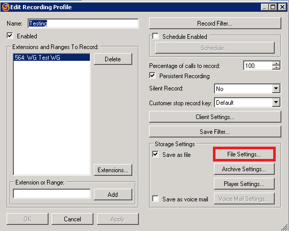How to Configure Call Recorder to Save Recordings to a Network Drive