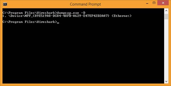 How to Run a Wireshark Capture on a Windows Server Without