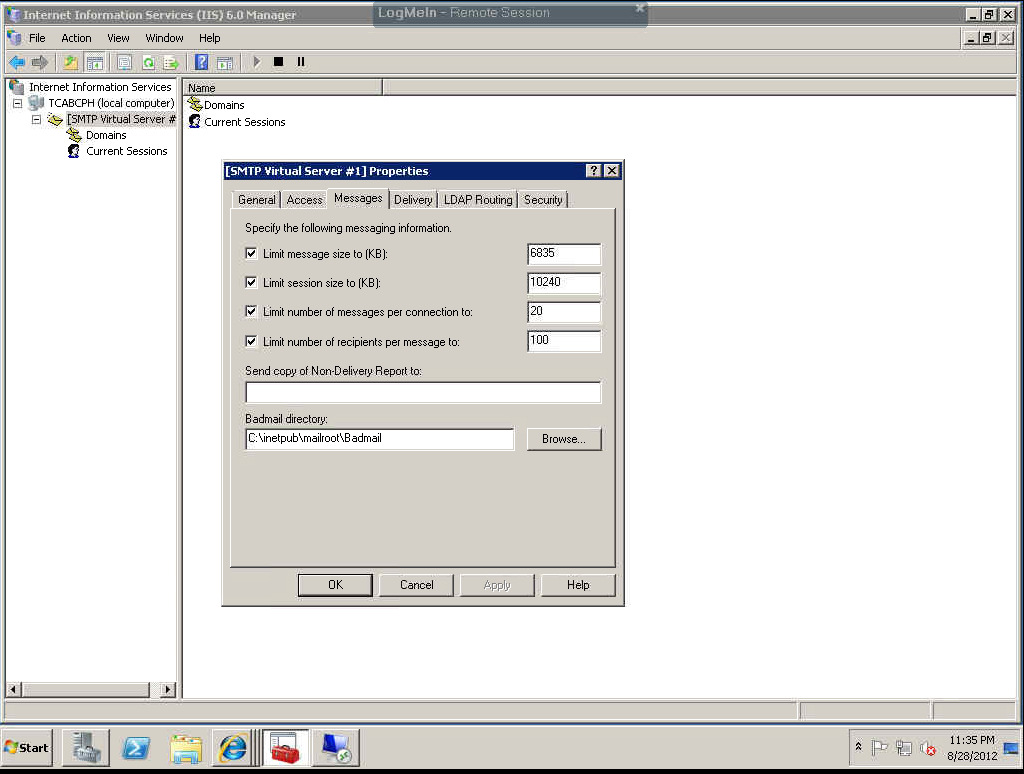 How to Troubleshoot SMTP Relays on Windows Servers