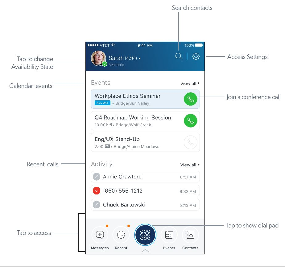 Mitel Connect for iOS